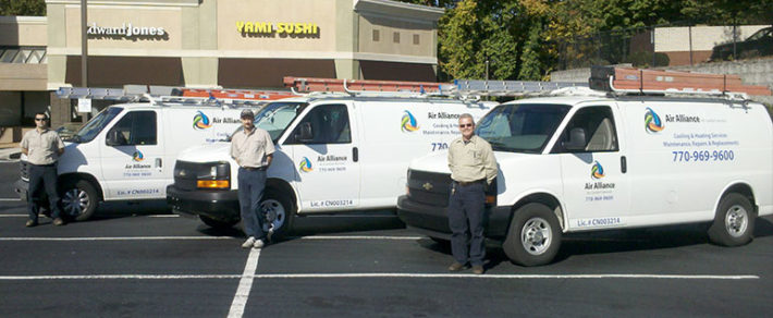 Commercial & Residential HVAC Service Team